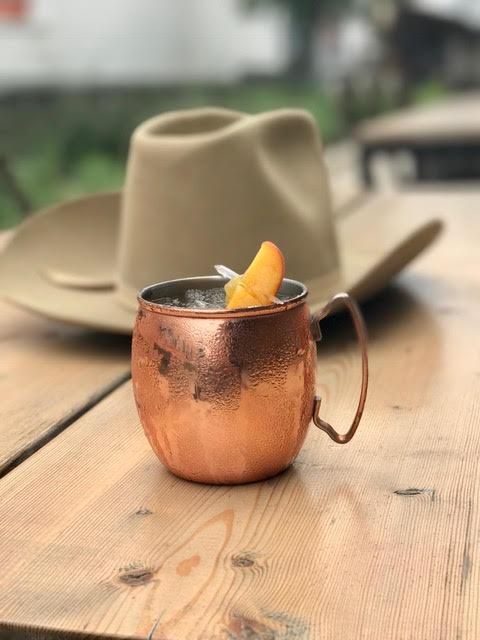 Peach Mule